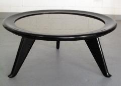 Maurice Jallot 1940s Round Coffee Table - 1908995