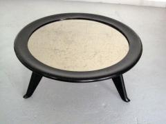 Maurice Jallot 1940s Round Coffee Table - 1908996