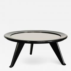 Maurice Jallot 1940s Round Coffee Table - 1909603