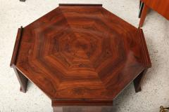 Maurice Jallot Fine Rosewood Late Art Deco Low Table France Maurice Jallot - 420399