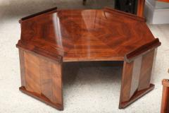Maurice Jallot Fine Rosewood Late Art Deco Low Table France Maurice Jallot - 420400