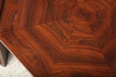 Maurice Jallot Fine Rosewood Late Art Deco Low Table France Maurice Jallot - 420401