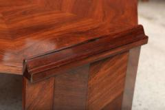 Maurice Jallot Fine Rosewood Late Art Deco Low Table France Maurice Jallot - 420402