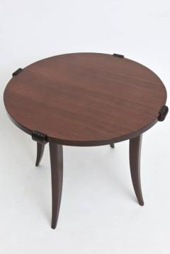 Maurice Jallot French Late Art Deco Rosewood Occasional Table or Gueridon - 390469