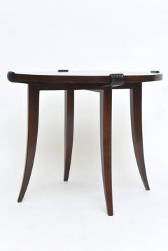 Maurice Jallot French Late Art Deco Rosewood Occasional Table or Gueridon - 390470