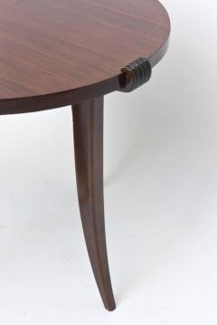 Maurice Jallot French Late Art Deco Rosewood Occasional Table or Gueridon - 390472