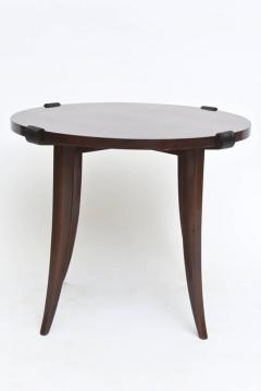 Maurice Jallot French Late Art Deco Rosewood Occasional Table or Gueridon - 390478