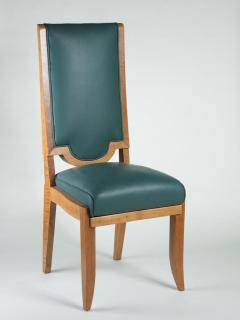 Maurice Jallot Maurice Jallot Set of Eight Dining Chairs - 1578456