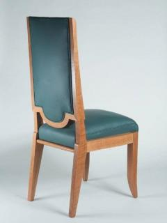 Maurice Jallot Maurice Jallot Set of Eight Dining Chairs - 1578457