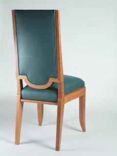 Maurice Jallot Maurice Jallot Set of Eight Dining Chairs - 1578458