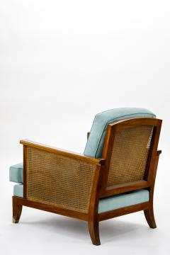 Maurice Jallot Maurice Jallot refined caned arm chair - 832537