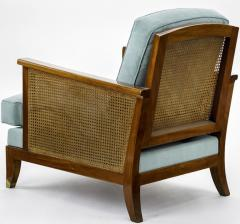 Maurice Jallot Maurice Jallot refined caned arm chair - 832538