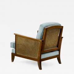 Maurice Jallot Maurice Jallot refined caned arm chair - 834561