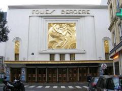 Maurice Picaud Art Deco Folies Bergeres Wall Plaque - 941492