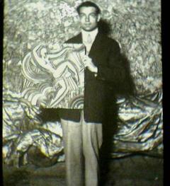 Maurice Picaud Art Deco Folies Bergeres Wall Plaque - 941493