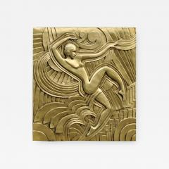 Maurice Picaud Art Deco Folies Bergeres Wall Plaque - 942341