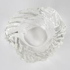Maurizio Albarelli Two Seguso Vetri DArte Textured and Cut Crystal Bowls by Maurizio Albarelli - 482286