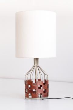 Maurizio Tempestini Large Maurizio Tempestini Rosewood Table Lamp for Casey Fantin Florence 1961 - 1275770