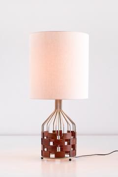 Maurizio Tempestini Large Maurizio Tempestini Rosewood Table Lamp for Casey Fantin Florence 1961 - 1275771