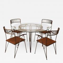 Maurizio Tempestini Maurizio Tempestini For Salterini Patio Table And  Chairs   416331