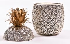 Mauro Manetti 1960s Italian Pineapple ice bucket by Mauro Manetti - 995831