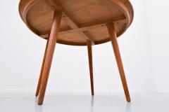 Max Bill Coffee Table Model Dreirundtisch by Max Bill Swiss 1949 - 1950952