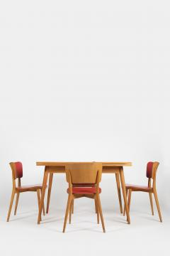 Max Bill Max Bill Folding dining table and 4 chairs Horgen Glarus 1957 - 1782846