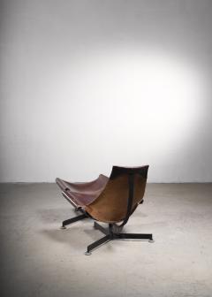 Max Gottschalk Max Gottschalk Lounge Chair with Ottoman USA 1960s - 2066509