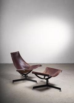 Max Gottschalk Max Gottschalk Lounge Chair with Ottoman USA 1960s - 2066510