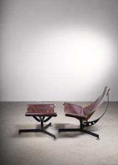 Max Gottschalk Max Gottschalk Lounge Chair with Ottoman USA 1960s - 2066511