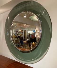Max Ingrand 1669 Model Circular Glass Mirror by Max Ingrand for Fontana Arte Italy 1960 - 1401522