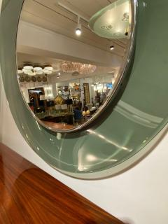 Max Ingrand 1669 Model Circular Glass Mirror by Max Ingrand for Fontana Arte Italy 1960 - 1401529