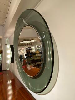 Max Ingrand 1669 Model Circular Glass Mirror by Max Ingrand for Fontana Arte Italy 1960 - 1401530