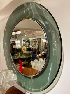 Max Ingrand 1669 Model Circular Glass Mirror by Max Ingrand for Fontana Arte Italy 1960 - 1401532