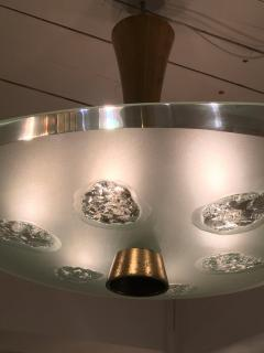 Max Ingrand 1748 Model Ceiling Light by Max Ingrand and Dub for Fontana Arte Italy 1957 - 1401497