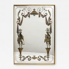 Max Ingrand 1940s Neo Classical Mirror in the Style of Max ingrand - 1470925