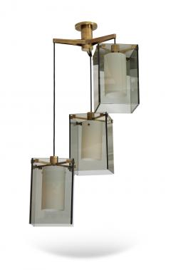 Max Ingrand 3 Light Pendant by Max Ingrand for Fontana Arte - 1090490