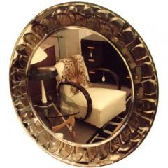Max Ingrand A Very Rare Round Wall Mirror by Max Ingrand by Fontana Arte - 255595