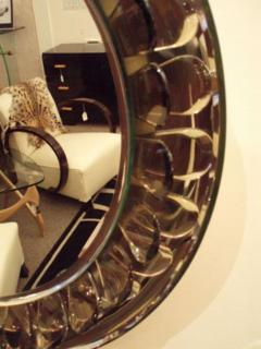 Max Ingrand A Very Rare Round Wall Mirror by Max Ingrand by Fontana Arte - 255598