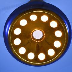 Max Ingrand Blue glass chandelier - 2106264