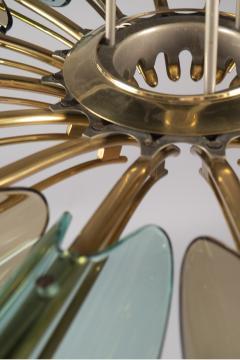 Max Ingrand Dahlia Chandelier by Max Ingrand Fontana Arte circa 1955 - 1121383