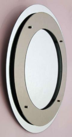 Max Ingrand Double circle mirror by Fontana Arte - 1223504