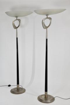 Max Ingrand Extremely rare pair of sculptural floor lamps - 1619863