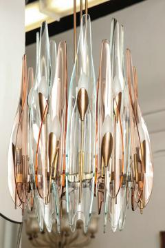 Max Ingrand Fontana Arte Dahlia Chandelier Made in Italy by Max Ingrand - 467801