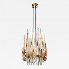Max Ingrand Fontana Arte Dahlia Chandelier Made in Italy by Max Ingrand - 469796