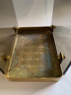 Max Ingrand Glass Brass Umbrella Stand By Max Ingrand For Fontana Arte 1960s - 2080618