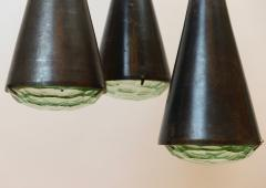 Max Ingrand Max Ingrand 2126 Model 3 Light Ceiling Pendant c 1961 - 1089330