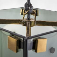 Max Ingrand Max Ingrand Fontana Arte mod 2211 Chandelier in Brass and Glass - 2057526