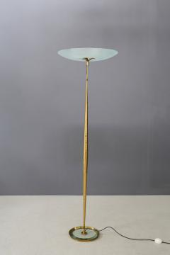 Max Ingrand Max Ingrand for Fontana Arte Floor Lamps MidCentury in brass 1950s - 1443927