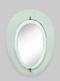 Max Ingrand Oval Mirror 2085 by Max Ingrand for Fontana Arte - 1223280
